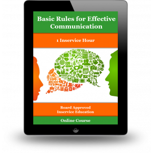 Basic Rules for Effective Communication