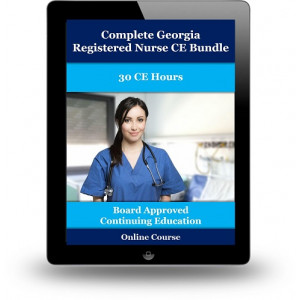 Complete Georgia Registered Nurse CE Bundle