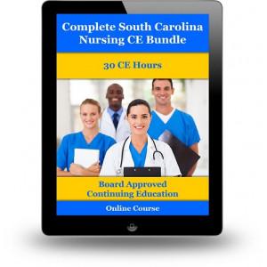 Complete South Carolina Nursing CE Bundle