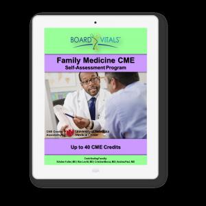 Family Medicine CME Online Self-Assessment Program