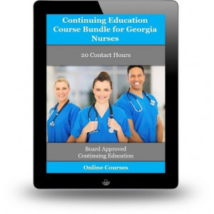 Complete Georgia CE Bundle for Nurses