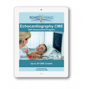 Echocardiography CME Online Self-Assessment Program