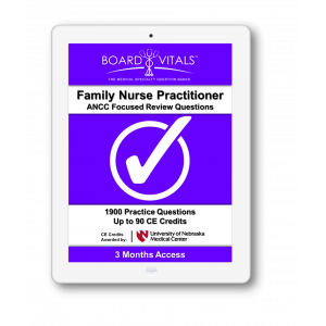 Family Nurse Practitioner ANCC Board Review Questions (3 Months Subscription)