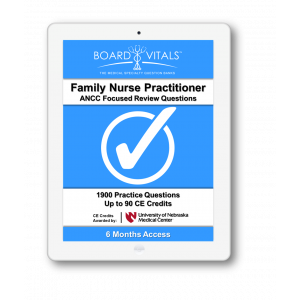 Family Nurse Practitioner ANCC Board Review Questions (6 Months Subscription)