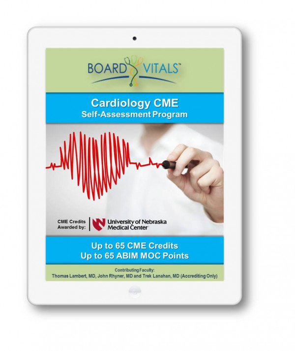 Cardiology CME Online Self-Assessment Program