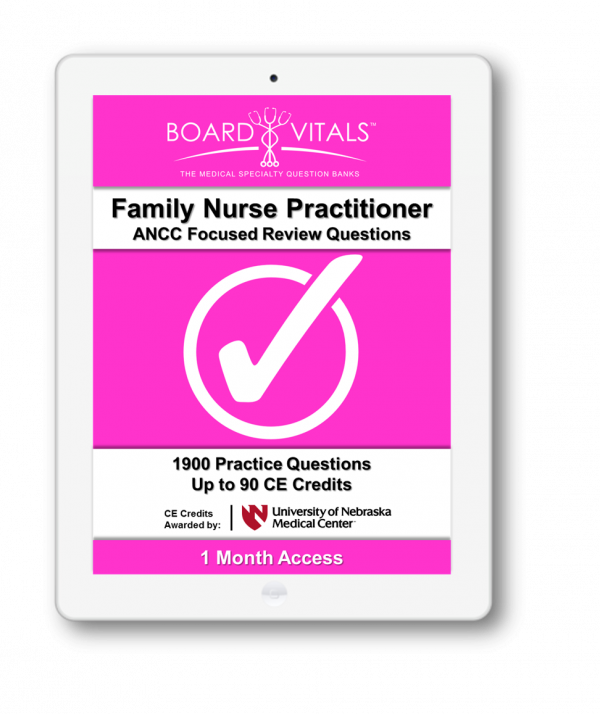 Family Nurse Practitioner ANCC Board Review Questions (1 Month Subscription)