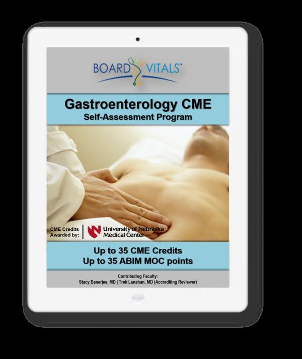 Gastroenterology CME Online Self-Assessment Program
