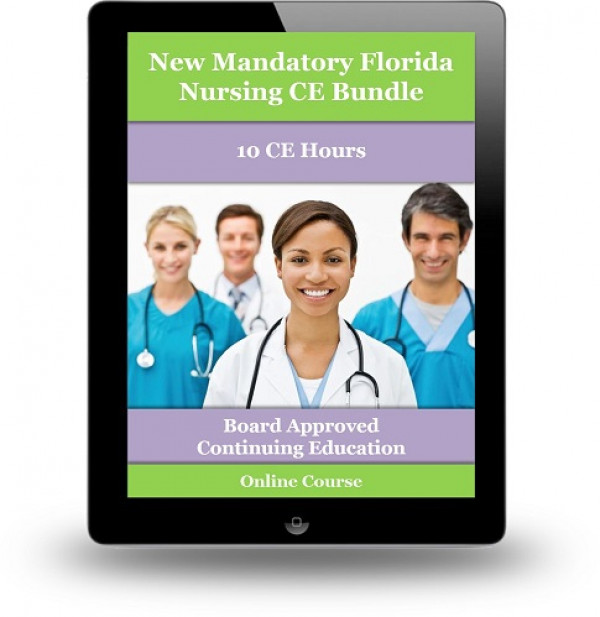 New Online Florida Required Nursing CE Bundle