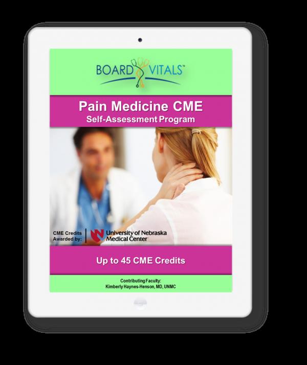 Pain Medicine CME Online Self-Assessment Program