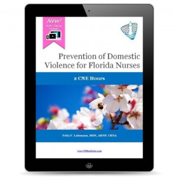 Prevention of Domestic Violence for Florida Nurses